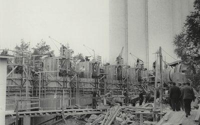 Valtion viljavarasto Seinäjoelle 1938