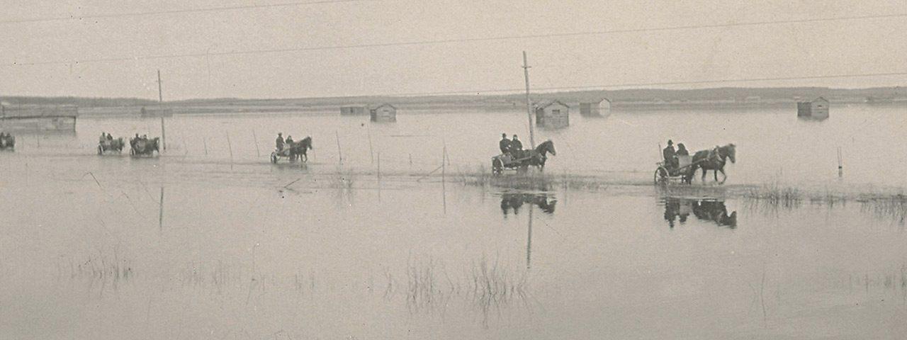 Tulvasota: Perkaukset etenevät 1930-luvulla